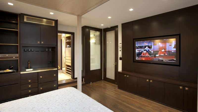 Modern bedroom storage unit design ipc221 wall storage cabinets al habib panel doors Master bedroom tv wall unit